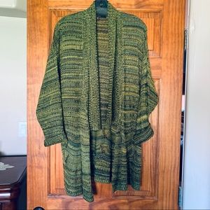 Beautiful Patterned Loose Knit Sweater for Fall